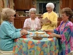 Golden Girls Sophia Kitchen Table