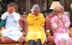 Rose gives Dorothy and Blanche the flu