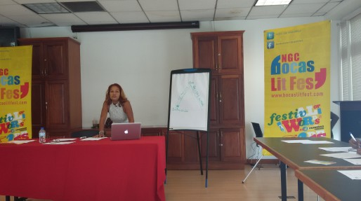 Ms. Lynn Joseph - CODE's Young Adult Fiction masterclass.