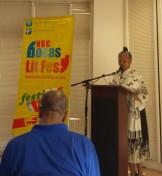 Poet - Ms. Erica Mapp, WUTT event.