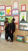 After at ITNAC art exhibit, NAPA. Sacha Johnson and I.