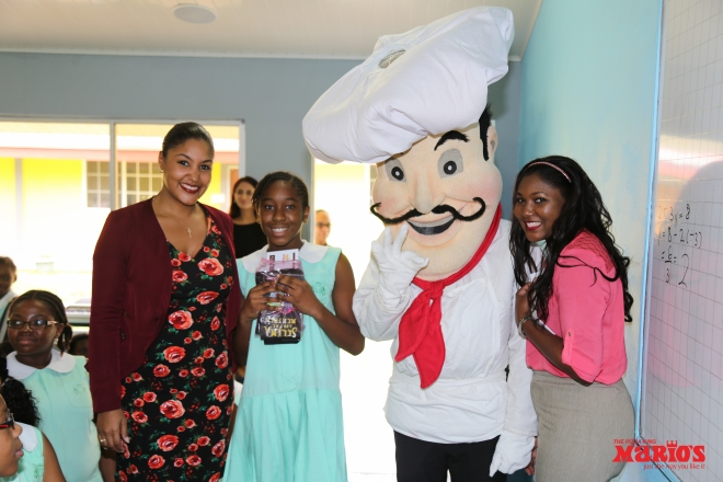 Nichelle Grey-Smith, Abigail Pierre, Mr. Mario's and Vanessa Salazar